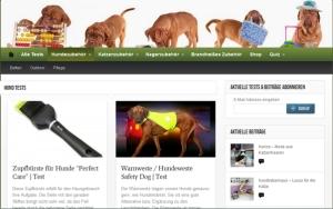 Produkttester für Hundeprodukte